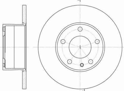 A.B.S. 15723 - Bremžu diski autodraugiem.lv