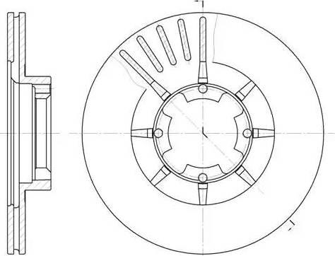 A.B.S. 15656 - Bremžu diski autodraugiem.lv