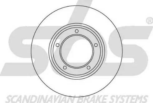 SBS 1815204001 - Bremžu diski autodraugiem.lv