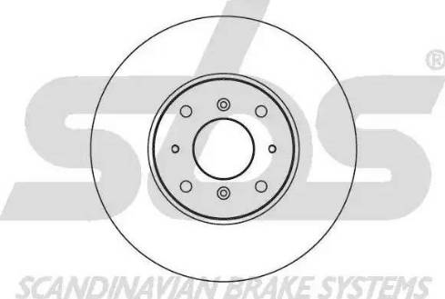 SBS 1815204010 - Bremžu diski autodraugiem.lv