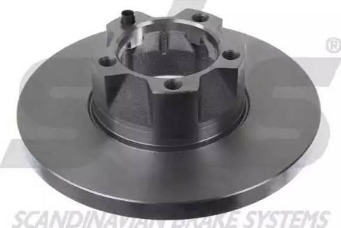 SBS 1815204721 - Bremžu diski autodraugiem.lv