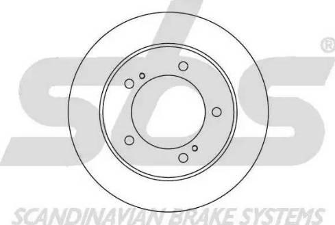 SBS 1815205201 - Bremžu diski autodraugiem.lv