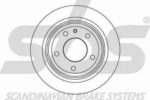 SBS 1815201514 - Bremžu diski autodraugiem.lv