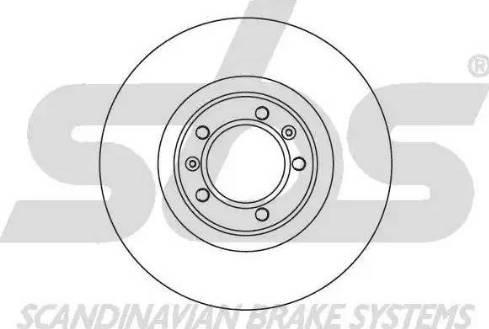 SBS 1815201012 - Bremžu diski autodraugiem.lv