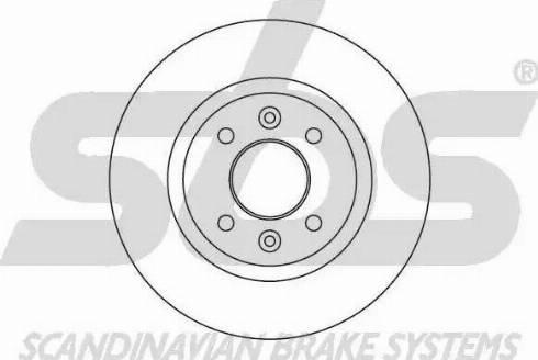 SBS 1815203922 - Bremžu diski autodraugiem.lv
