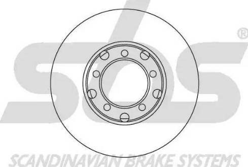 SBS 1815203311 - Bremžu diski autodraugiem.lv