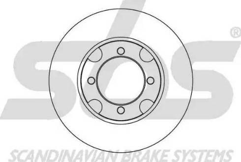 SBS 1815203210 - Bremžu diski autodraugiem.lv