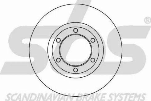 SBS 1815203222 - Bremžu diski autodraugiem.lv