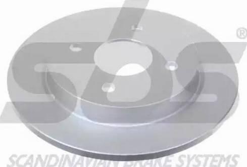 SBS 1815202536 - Bremžu diski autodraugiem.lv