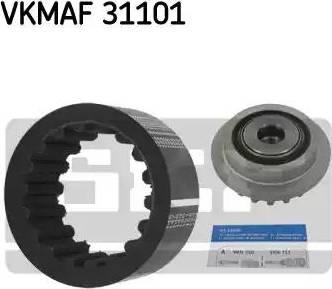 SKF VKMAF 31101 - Elastīgo sajūga uzmavu komplekts autodraugiem.lv