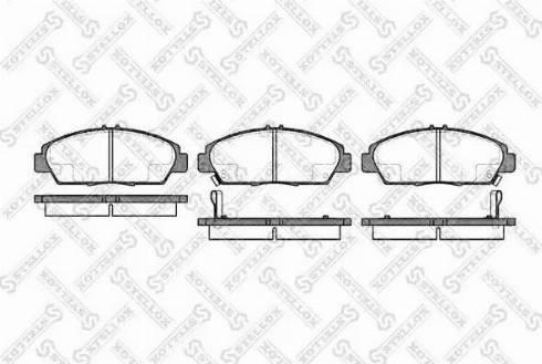 Stellox 417 002B-SX - Bremžu uzliku kompl., Disku bremzes autodraugiem.lv