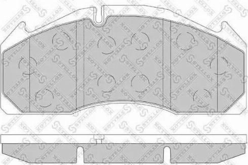 Stellox 85-01423-SX - Bremžu uzliku kompl., Disku bremzes autodraugiem.lv