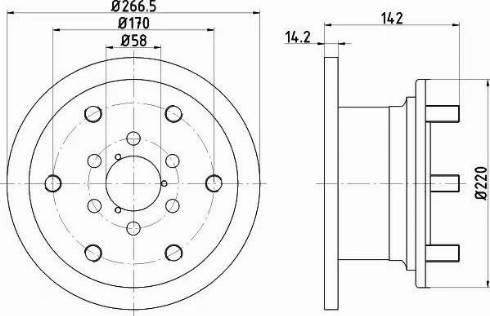 Textar 93019400 - Bremžu diski autodraugiem.lv
