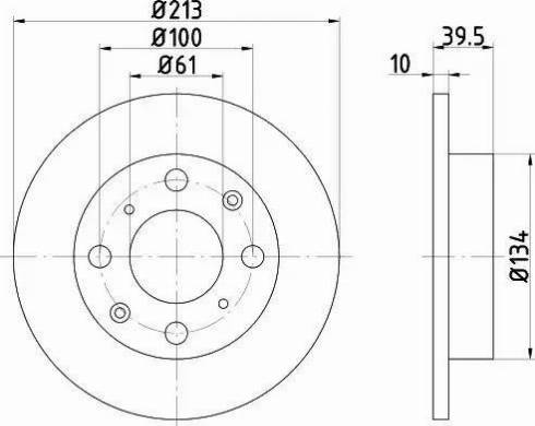 Textar 92046600 - Bremžu diski autodraugiem.lv