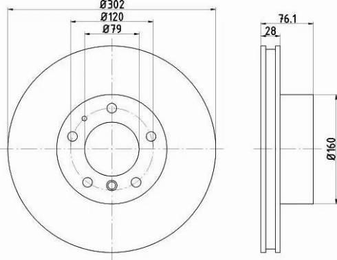 Textar 92042400 - Bremžu diski autodraugiem.lv