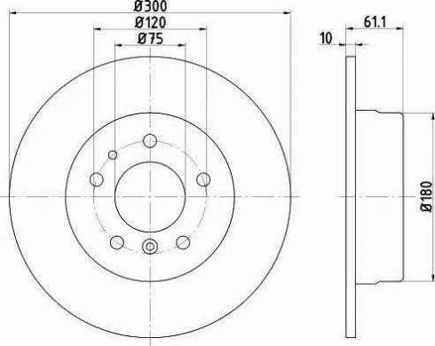 Textar 92042303 - Bremžu diski autodraugiem.lv