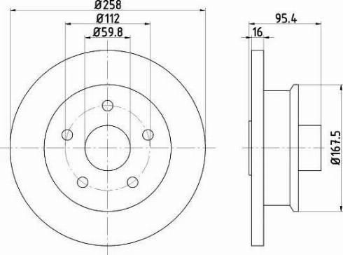 Textar 92053000 - Bremžu diski autodraugiem.lv