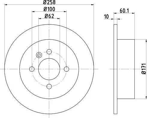 Textar 92019200 - Bremžu diski autodraugiem.lv