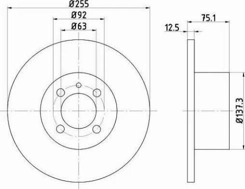 Textar 92011600 - Bremžu diski autodraugiem.lv