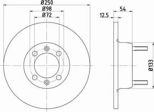 Textar 92013500 - Bremžu diski autodraugiem.lv