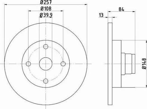 A.B.S. 15757 - Bremžu diski autodraugiem.lv