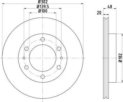 Textar 92080400 - Bremžu diski autodraugiem.lv