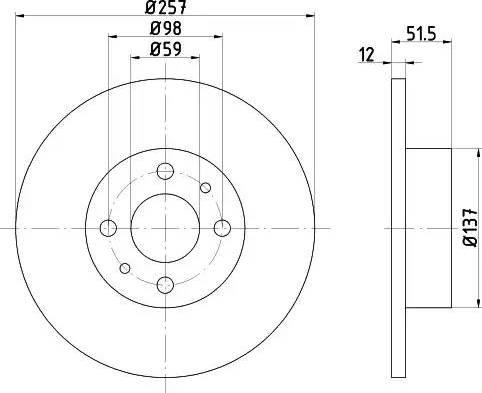 Textar 92034000 - Bremžu diski autodraugiem.lv