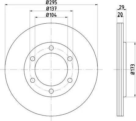 Textar 92035600 - Bremžu diski autodraugiem.lv