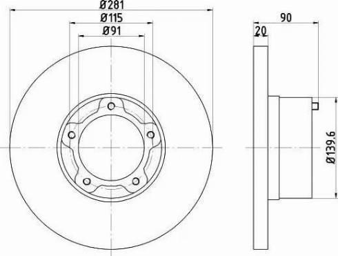 Textar 92031500 - Bremžu diski autodraugiem.lv