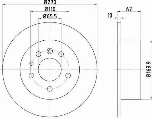 Textar 92038200 - Bremžu diski autodraugiem.lv