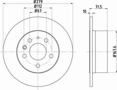 Textar 92032600 - Bremžu diski autodraugiem.lv