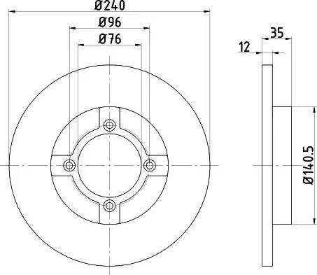 Textar 92029300 - Bremžu diski autodraugiem.lv