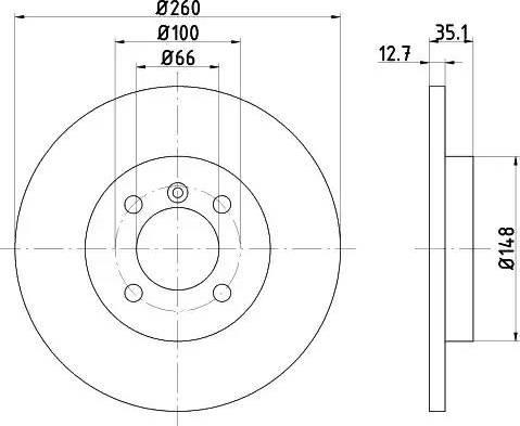 Textar 92026400 - Bremžu diski autodraugiem.lv