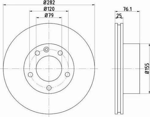 Textar 92026700 - Bremžu diski autodraugiem.lv