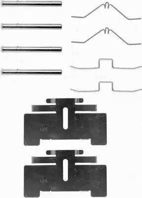 Textar 82016400 - Piederumu komplekts, Disku bremžu uzlikas autodraugiem.lv