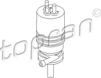 Topran 400117 - Ūdenssūknis, Lukturu tīrīšanas sistēma autodraugiem.lv
