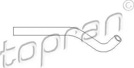 Topran 501 556 - Hidrauliskā šļūtene, Stūres iekārta autodraugiem.lv