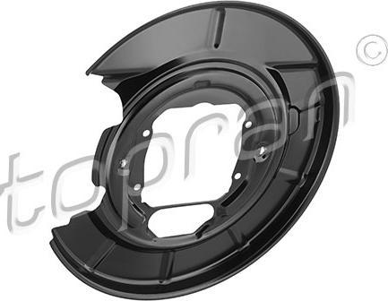 Topran 503 349 - Dubļu sargs, Bremžu disks autodraugiem.lv