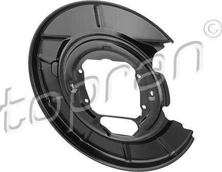 Topran 503 350 - Dubļu sargs, Bremžu disks autodraugiem.lv