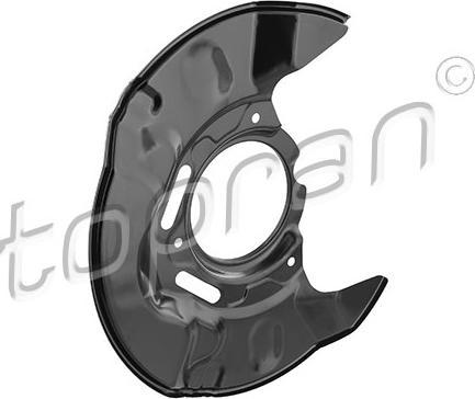 Topran 600 852 - Dubļu sargs, Bremžu disks autodraugiem.lv