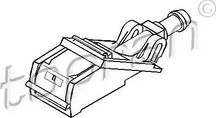 Topran 109764 - Ūdens sprausla, Stiklu tīrīšanas sistēma autodraugiem.lv