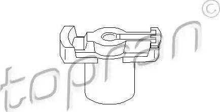 Topran 101047 - Aizdedzes sadalītāja rotors autodraugiem.lv