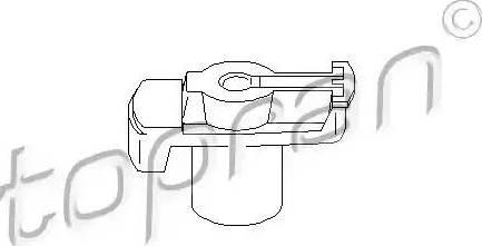 Topran 101018 - Aizdedzes sadalītāja rotors autodraugiem.lv