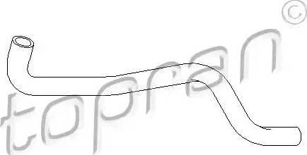 Topran 108310 - Šļūtene, Apsildes sistēmas siltummainis autodraugiem.lv