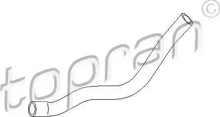 Topran 108317 - Šļūtene, Apsildes sistēmas siltummainis autodraugiem.lv