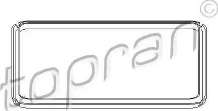 Topran 108756 - Blīve, Eļļas vācele-Autom. pārnesumkārba autodraugiem.lv