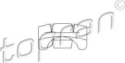 Topran 103635 - Regulēšanas elements, Sēdekļa regulēšana autodraugiem.lv