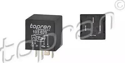 Topran 103629 - Avārijas gaismas signāla relejs autodraugiem.lv