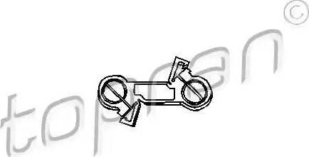 Topran 103078 - Pārnesumu pārslēgšanas dakšas štoks autodraugiem.lv