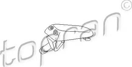 Topran 102968 - Ūdens sprausla, Stiklu tīrīšanas sistēma autodraugiem.lv